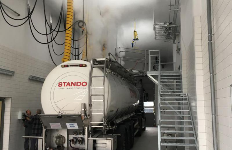 Tank Cleaning Station