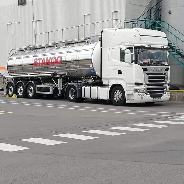 Transport specjalistyczny realizowany cysternami